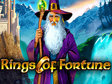 Игровой онлайн аппарат Rings Of Fortune в казино Вулкан